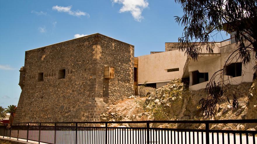 Vista exterior del Museo Castillo de Mata.