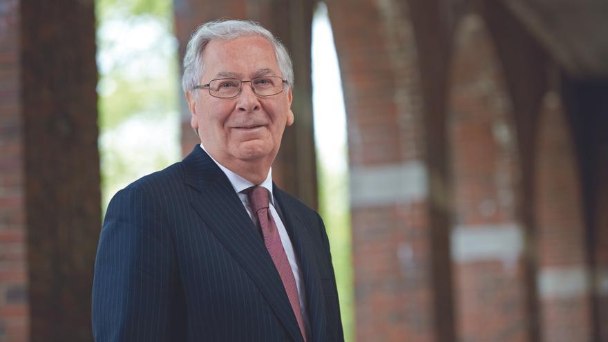 Mervyn King, ex gobernador del Banco de Inglaterra.