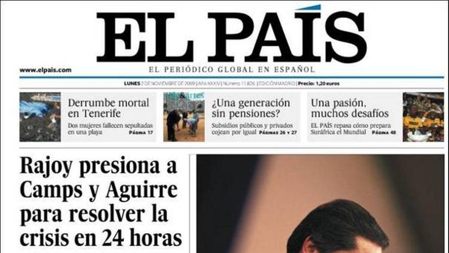 Portadas del dia (2/11/2009) #6