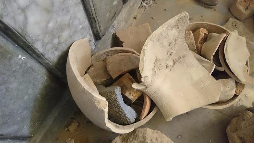 Las piezas arqueológicas que los yihadistas del EI no pudieron vender