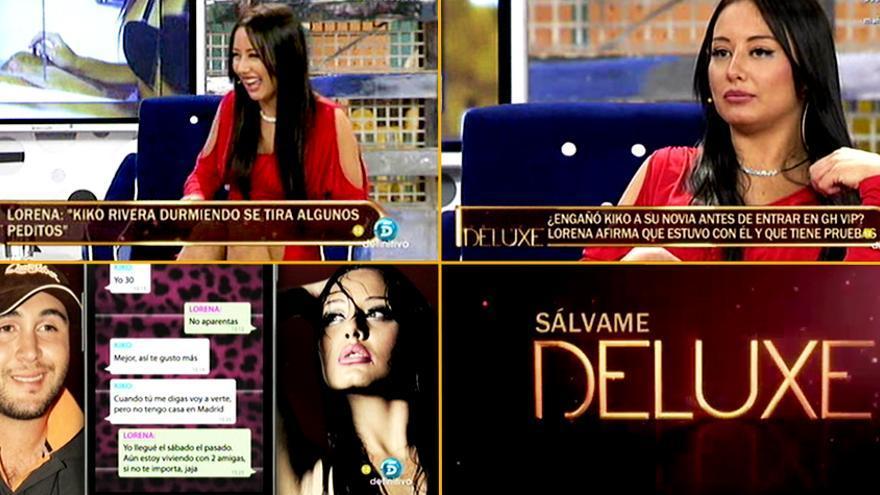 La ex amante de Kiko Rivera publica un 'selfie' desnuda en el camerino de Telecinco