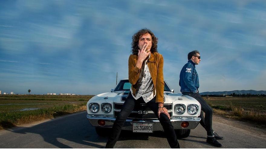 Imagen promocional de Los Zigarros, grupo de rock valenciano