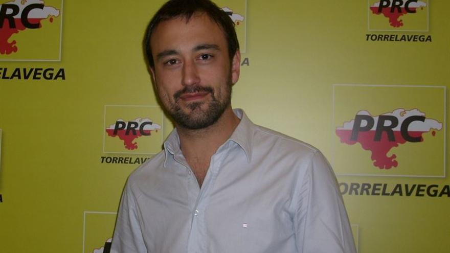 Javier López Estrada, candidato del PRC a la Alcaldía de Torrelavega.