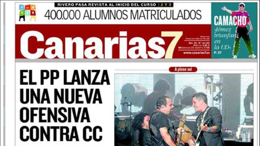 De las portadas del día (25/08/2010) #2