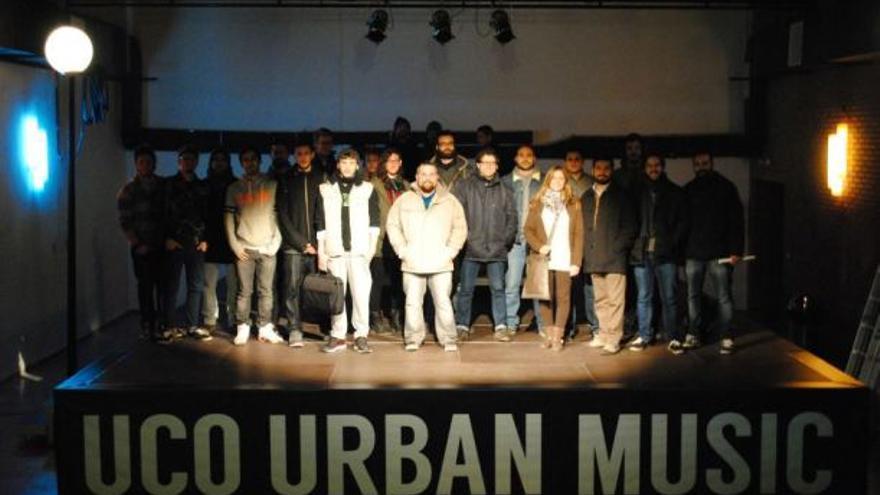 Los grupos seleccionados para el programa UCO Urban Music de la Universidad de Córdoba. (Foto. UCO Urban Music)