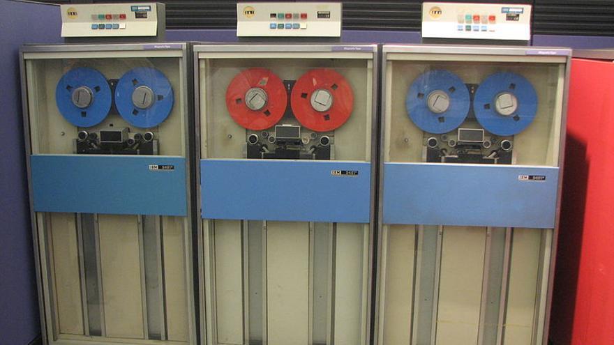 Unidades de cinta para el IBM S/360