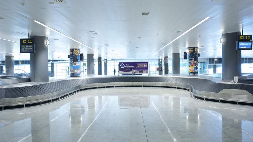 Cintas del aeropuerto de Fuerteventura. Aena.