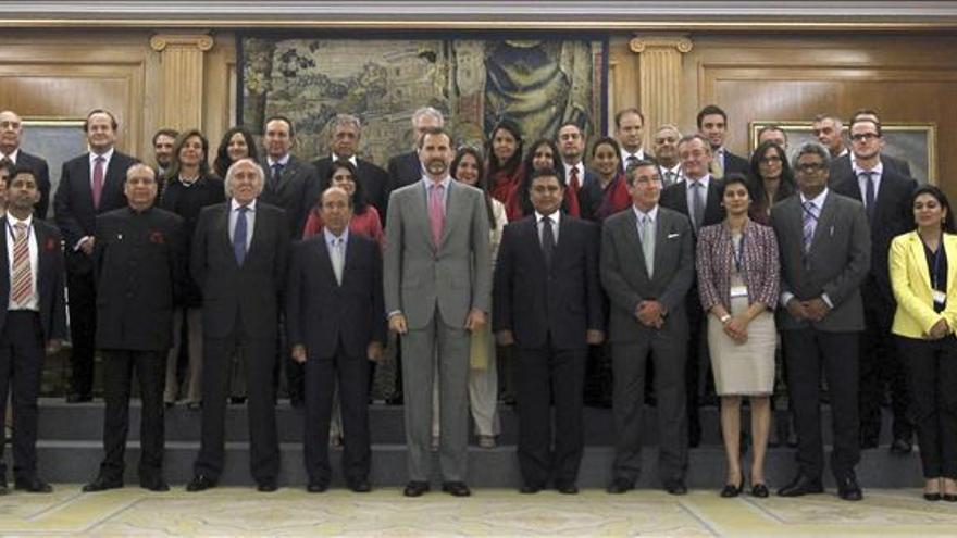 El Príncipe y líderes de opinión indios tratan la capacidad innovadora de España