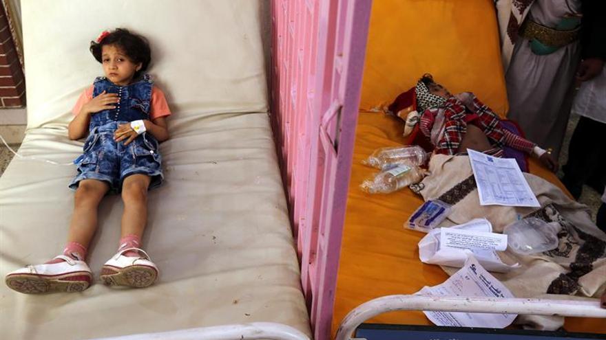 La epidemia del cólera en Yemen, la mayor desde que hay registros, según Oxfam