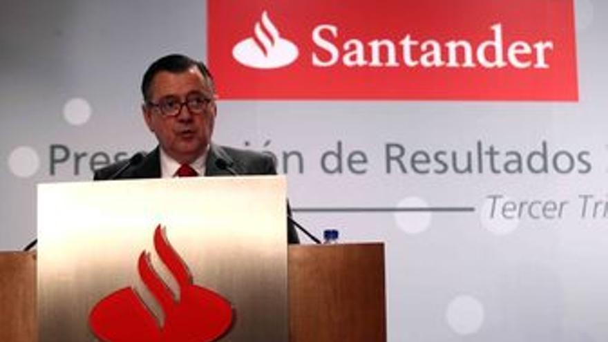 Consejero delegado del Santander, Alfredo Sáenz