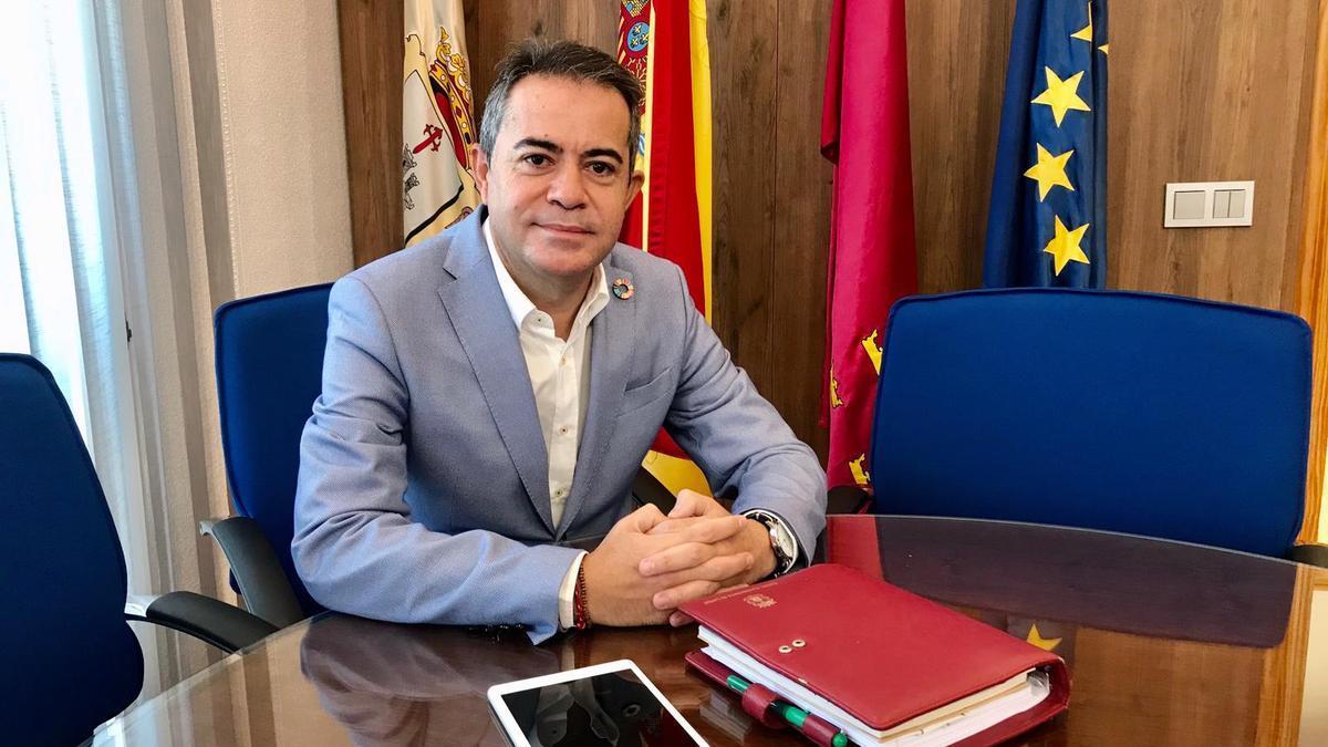 Joaquín Hernández, alcalde de Lorquí