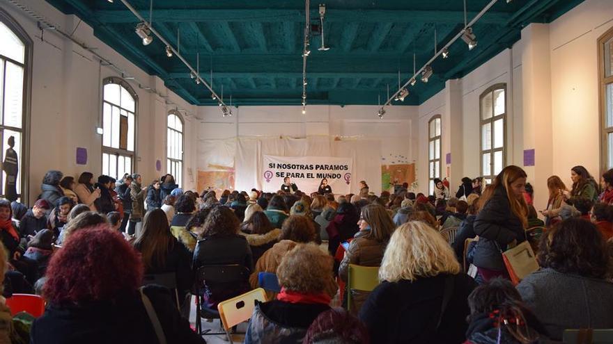 II Encuentro Estatal Hacia la Huelga Feminista, celebrado el pasado 14 de enero