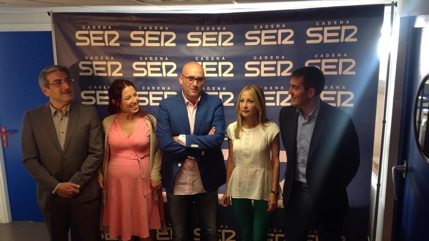 Debate de los candidatos al Gobierno de Canarias en la Cadena SER