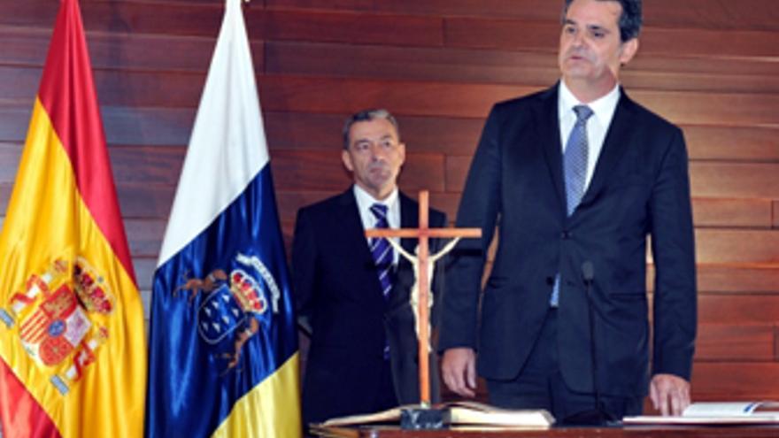 Toma de posesión de Jorge Rodríguez. (ACFI PRESS)
