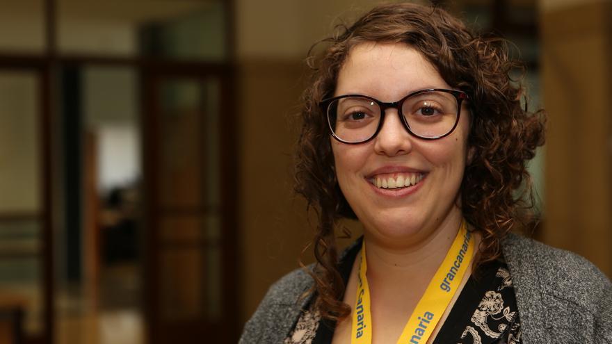 Ana Solano, responsable del área de Relaciones Internacionales del Consejo de la Juventud de España