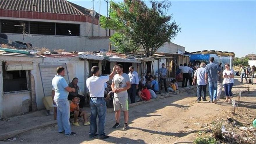 Asentamiento de El Cavero / EUROPA PRESS