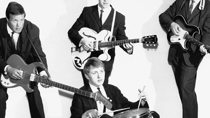 Fotografía de Die Sputniks, conocidos como los 'Beatles' del este. Su carrera fue corta, estuvieron activos de 1963 a 1966. Foto: AMIGA.jpg