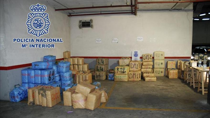 Detenidos 31 narcotraficantes e intervenidas más de siete toneladas de hachís