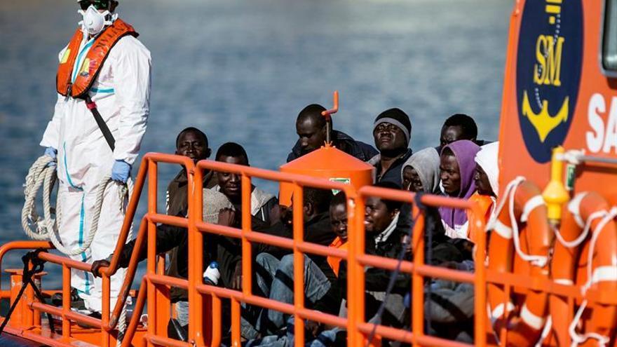 Salvamento Marítimo auxilió a 2.979 personas en pateras entre enero y junio