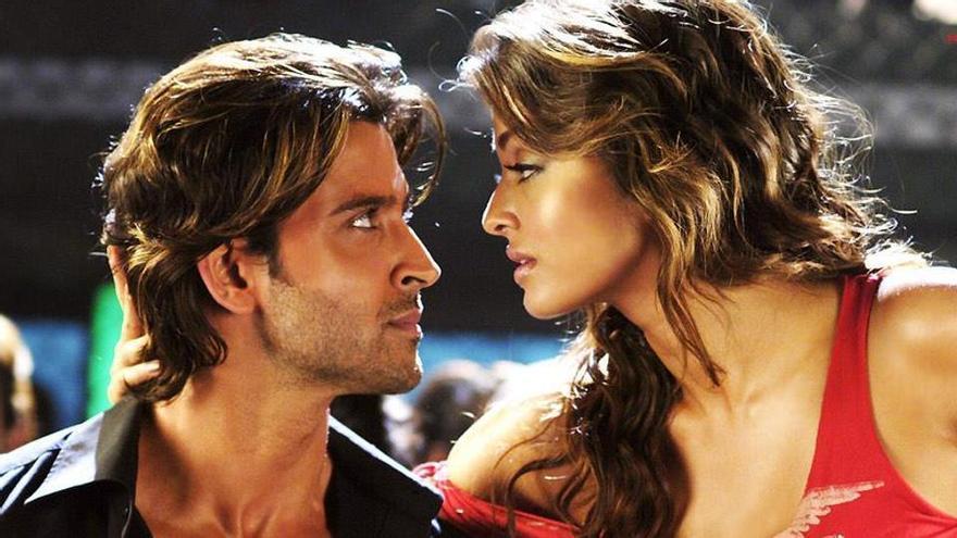 Hrithik Roshan y Aishwarya Rai en la película de Bollywood 'Dhoom 2'.