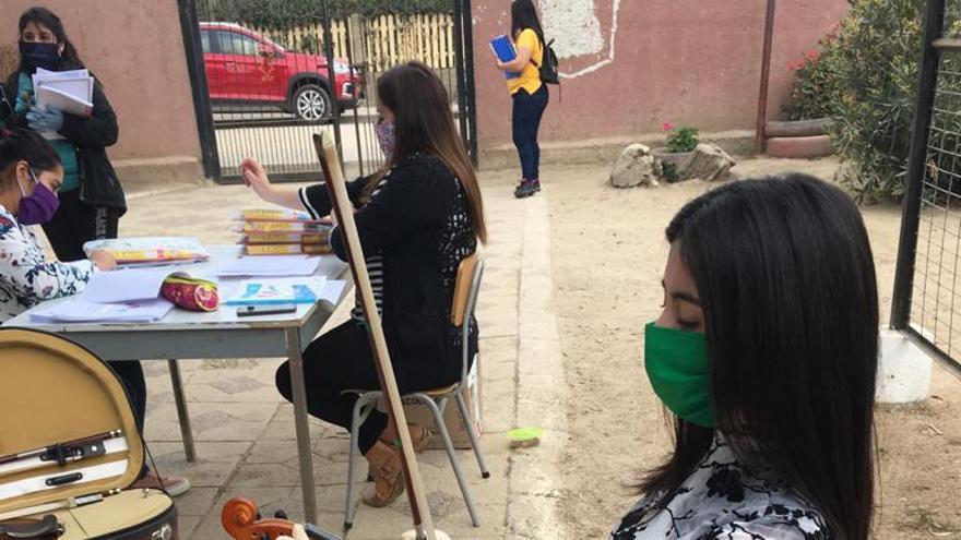 Imagen de Barrios Orquestados desde Chile durante el mes de abril