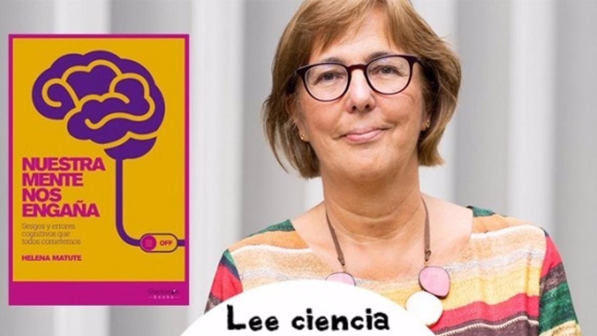 Helena Matute, una de las científicas y divulgadoras que participará en la nueva edición de 'Lee Ciencia'.