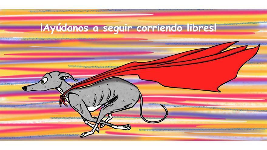 'El rock de los galgos', cómic de Fabio Perianes Santos para concienciar sobre el maltrato a estos perros en España.
