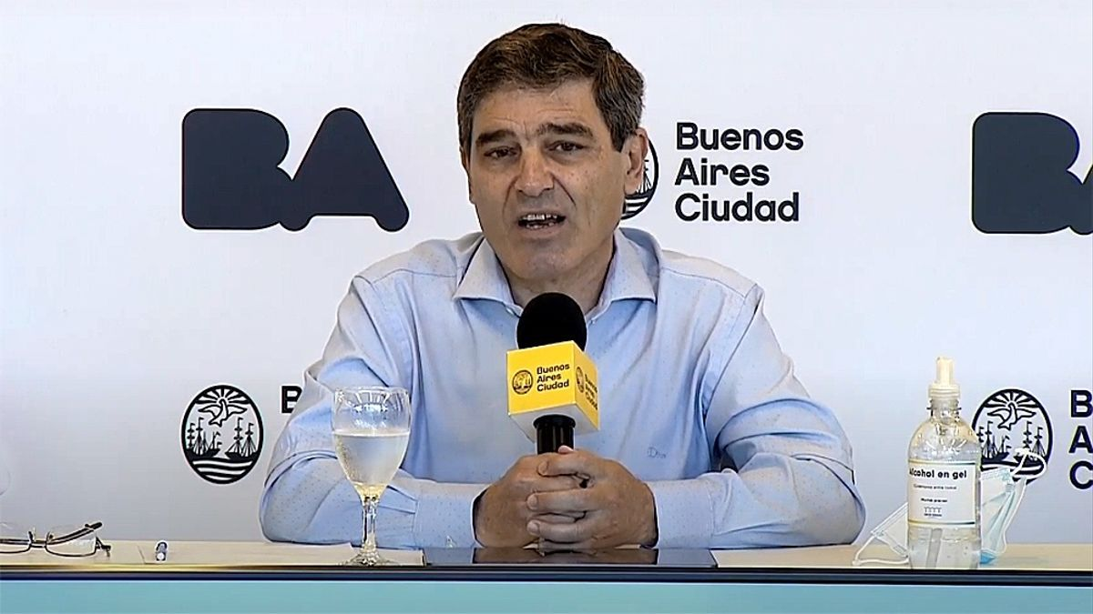 El ministro de Salud porteño, Fernán Quirós.