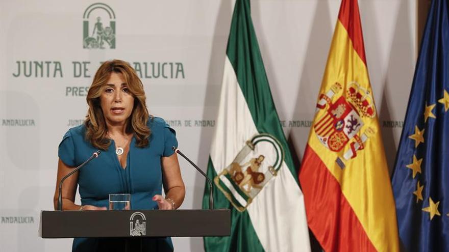 Díaz recuerda a Sánchez no apoyará plurinacionalidad si perjudica a Andalucía
