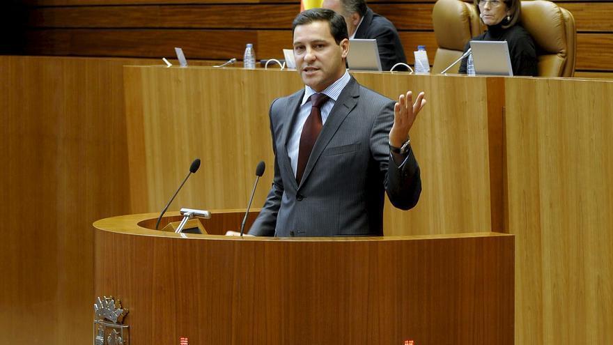 Raúl de la Hoz, procurador del PP en las Cortes de Castilla y León. Foto: Nacho Gallego / EFE.