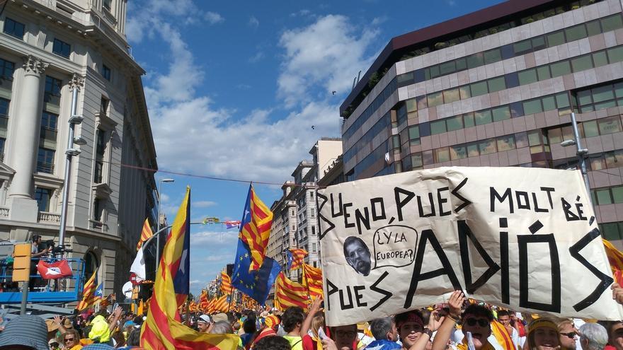 La independencia de Cataluña emerge como segundo problema nacional, detrás del paro