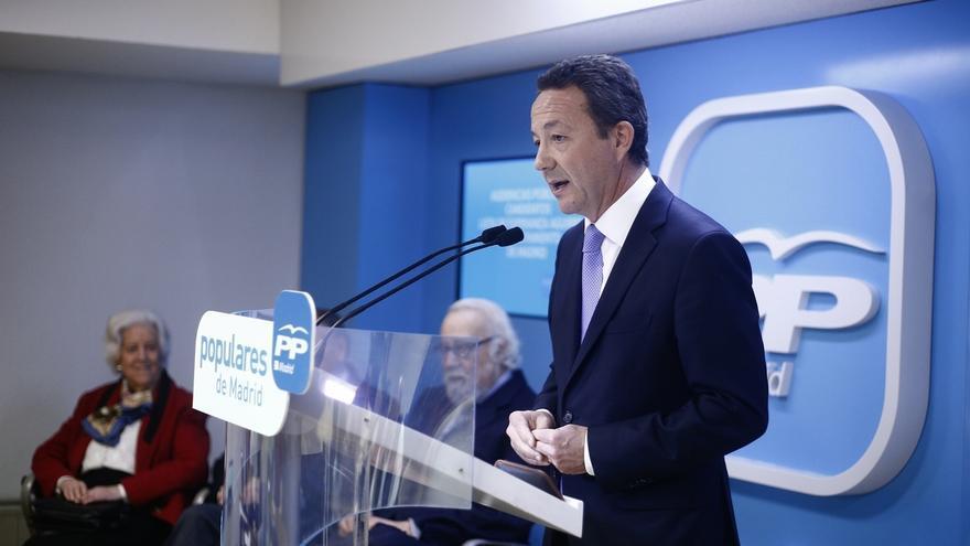 Henríquez de Luna intervendrá hoy en el Pleno de Madrid como portavoz del PP tras la dimisión de Aguirre