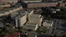 Vista general del hospital de Txagorritxu de Vitoria
