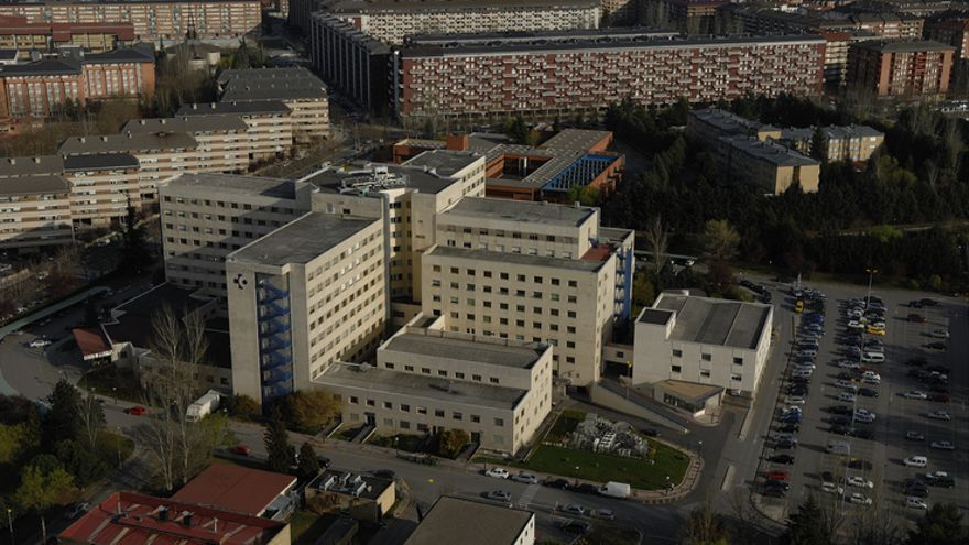 Vista general del hospital de Txagorritxu de Vitoria