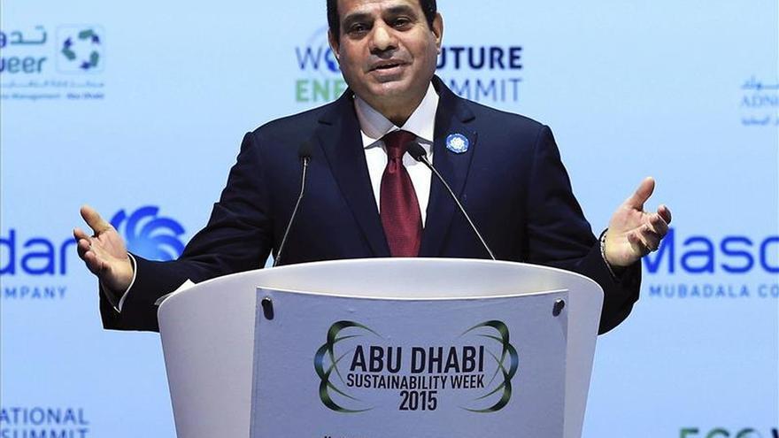 El presidente egipcio promulga una nueva ley antiterrorista