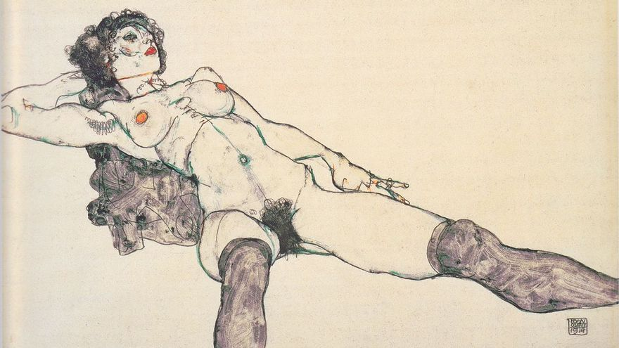By Egon Schiele - repro from artbook, Public Domain, https://commons.wikimedia.org/w/index.php?curid=10301460