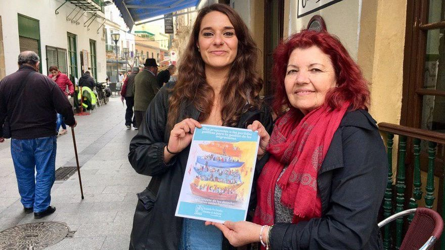 Noelia Vera (Unidas Podemos) critica la política de migración del PSOE y Marlaska