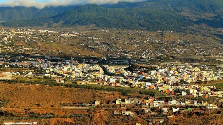 Panorámica de Los Llanos de Aridane.