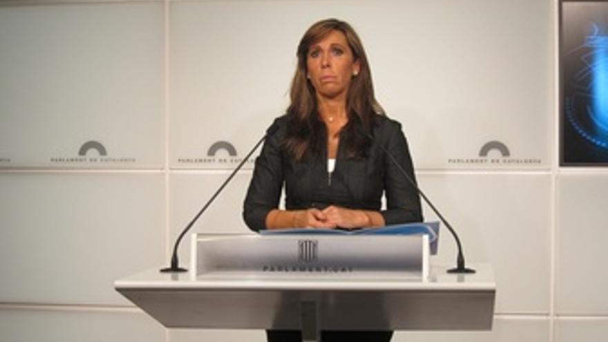 La Líder Del PP En Catalunya, Alícia Sánchez-Camacho