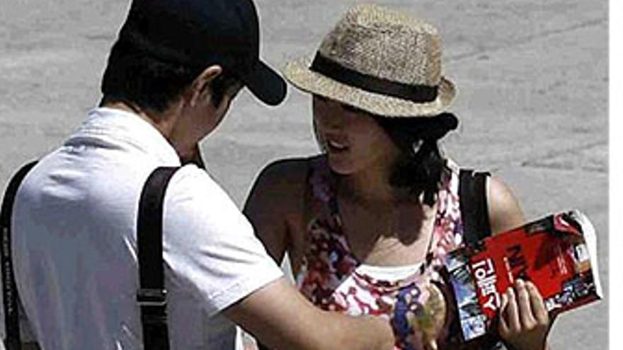 Turistas extranjeros. (EP)