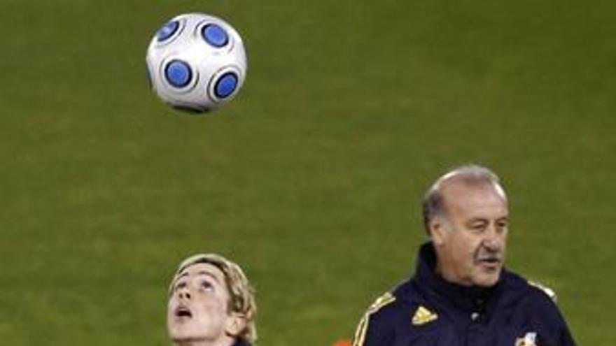Del Bosque dará mañana la lista de España para los partidos frente a Armenia y Bosnia
