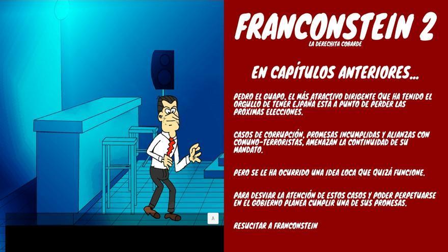 Franconstein 2: la derechita cobarde