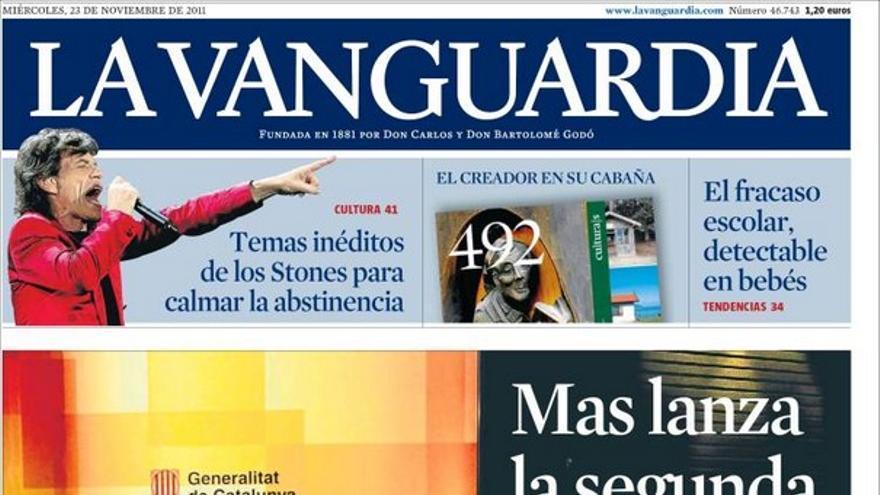 De las portadas del día (23/11/2011) #11