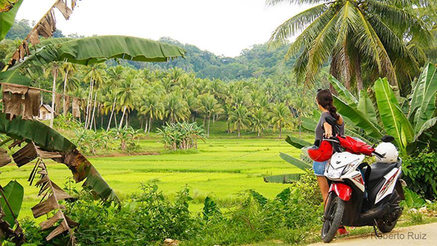 Sudeste Asiático moto de alquiler