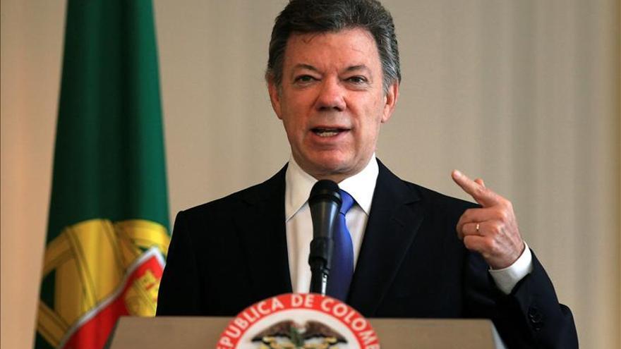 Santos condiciona el diálogo con el ELN a la liberación de un canadiense