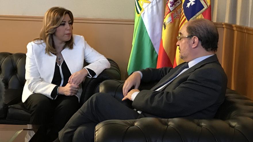 """El presidente del Gobierno de Aragón dice que el desarme de ETA es """"una buena noticia"""""""