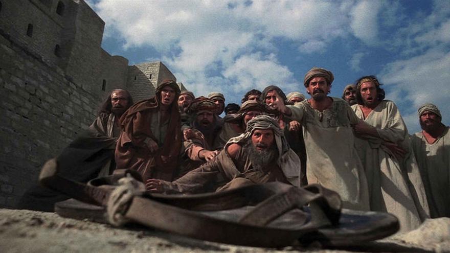 Una escena de 'La vida de Brian' de Monty Python