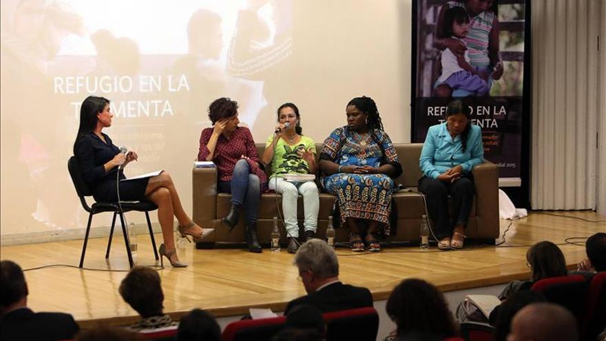 Las colombianas afrontan unidas la vulnerabilidad más alta de Latinoamérica