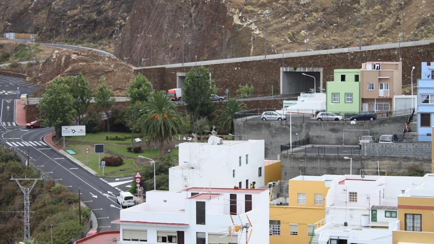 Panorámica del barrio de Timibúcar de Santa Cruz de La Palma.
