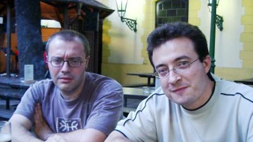 Daniel Monzón y Roque Baños / Foto: roquebaños.es